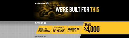 Can-Am SSV Promotions